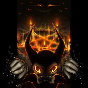 Demonic Bendy by BelieveTheHorror