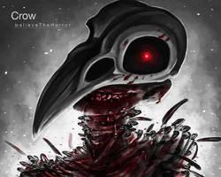 Goretober 4 - Crows by BelieveTheHorror