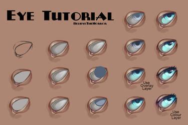 Eye Tutorial by BelieveTheHorror