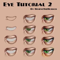 Eye Tutorial 2 by BelieveTheHorror