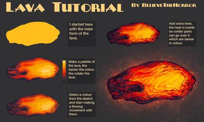 Lava Tutorial by BelieveTheHorror