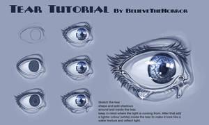 Tear Tutorial by BelieveTheHorror