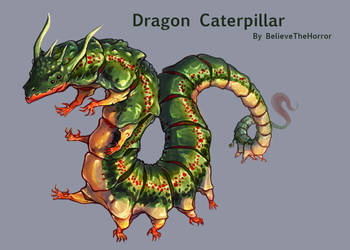 [CLOSED] Adopt Auction : Dragon Caterpillar by BelieveTheHorror