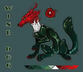 [OPEN] Adopt Auction : Wine Dog by BelieveTheHorror