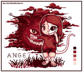 Ange pixel doll by BelieveTheHorror