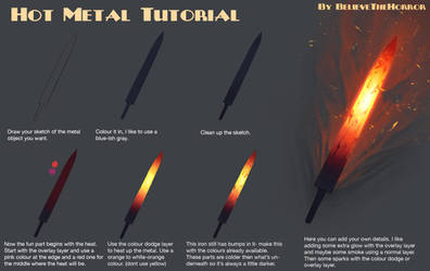 Hot Metal Tutorial by BelieveTheHorror