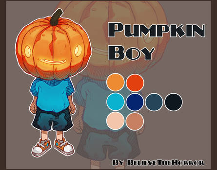 [OPEN] Adopt Auction : Pumpkin Boy