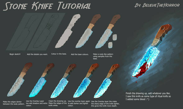 Stone Knife Tutorial