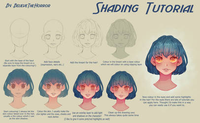 Shading Tutorial by BelieveTheHorror