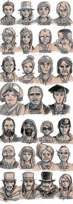 Justice lineup
