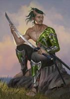 Samurai Tiefling
