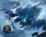 Mecha Ice Dragon by ninosetiawan
