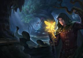 The Greencloak Wanderer