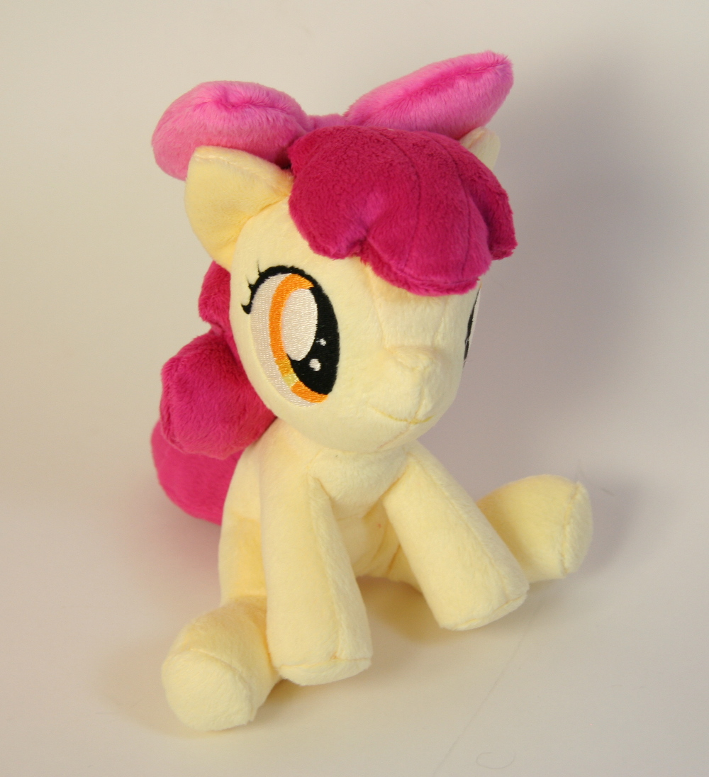 Applebloom Plushie by Yukamina-Plushies