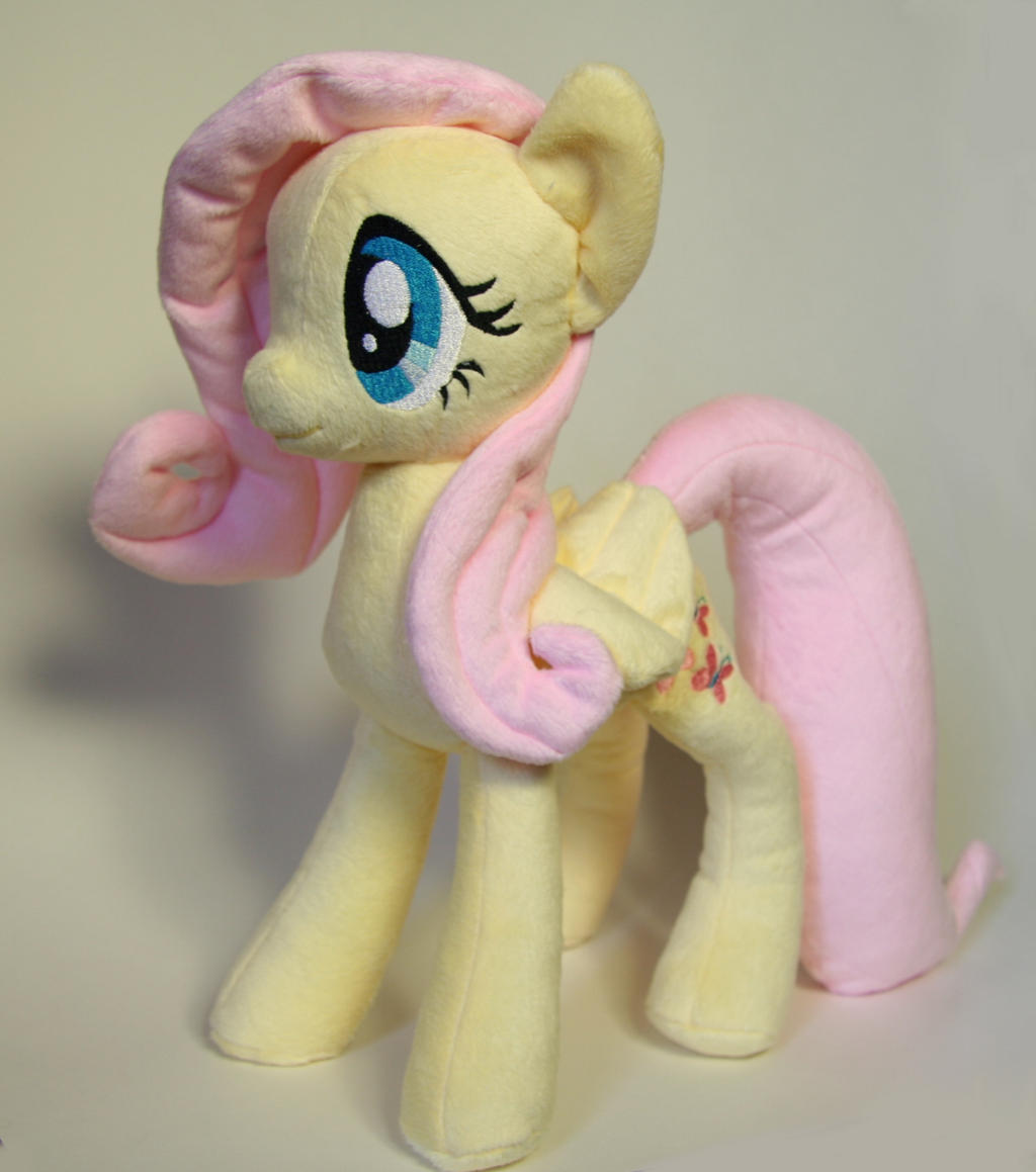 Fluttershy Plush by Yukamina-Plushies
