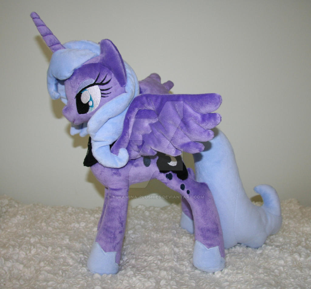 Princess Luna by Yukamina-Plushies