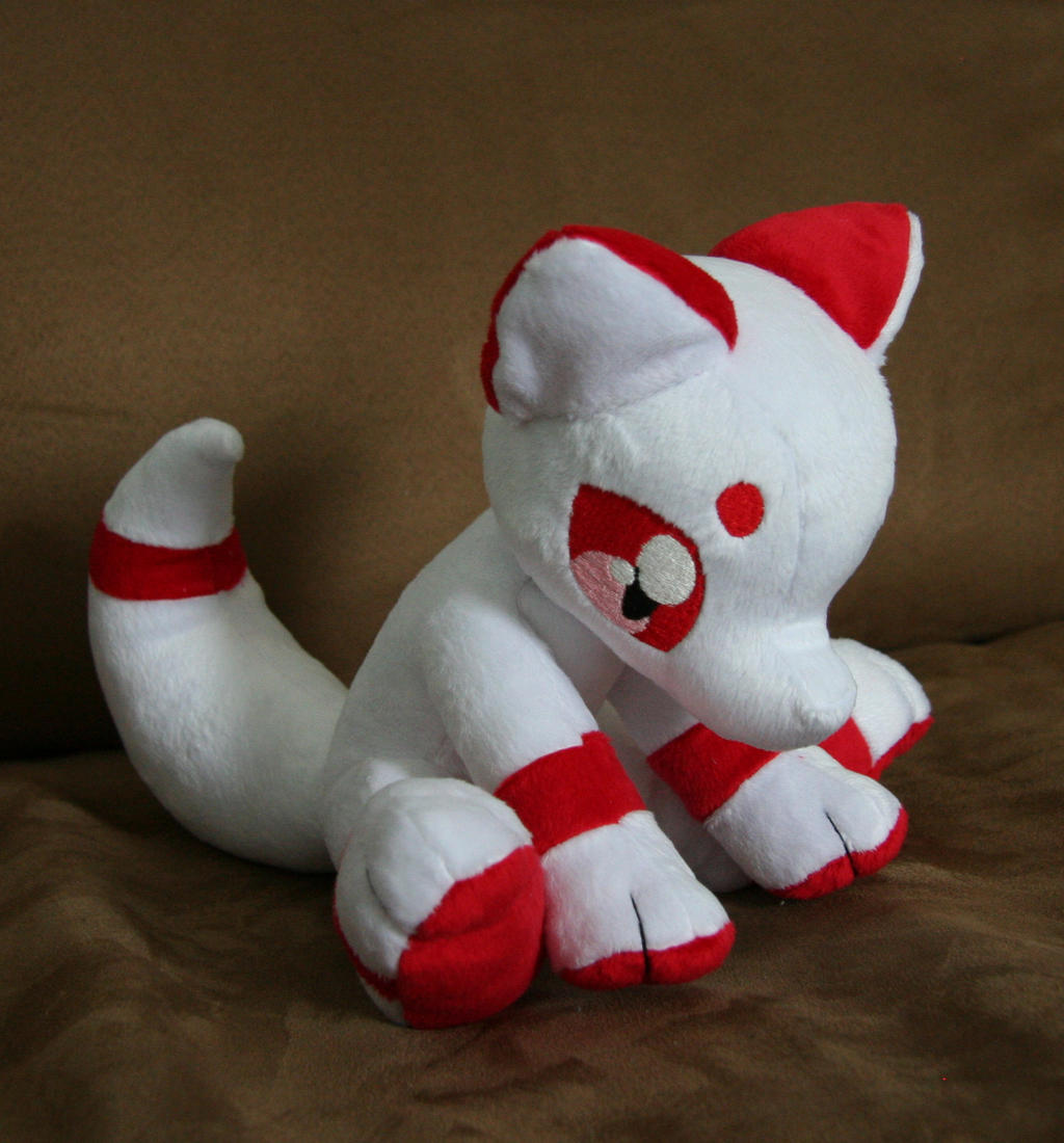 Sitting Fox Plushie by Yukamina-Plushies on DeviantArt