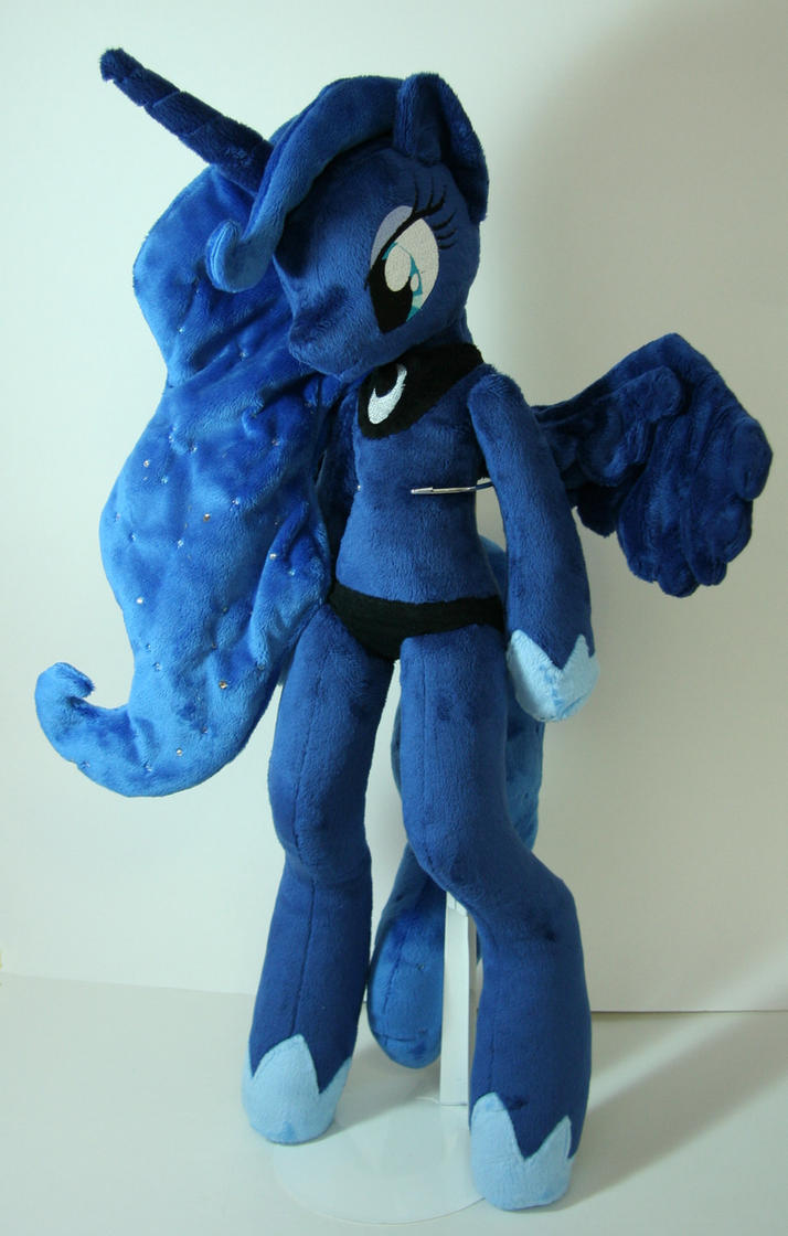 Princess luna anthro by yukamina plushies on deviantart for Furry craft