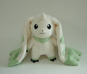 Terriermon plush by Yukamina-Plushies