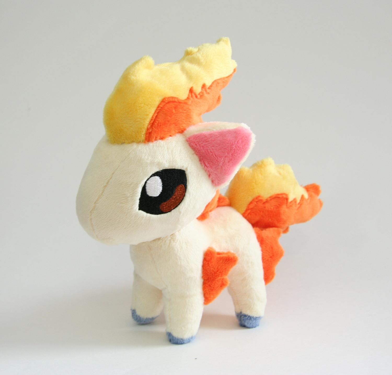 Ponyta Chibi Plush by Yukamina-Plushies