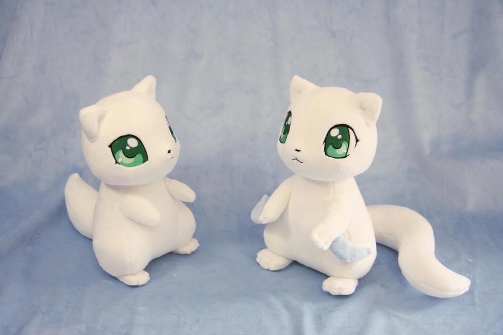 Kama-itachi Plushies by Yukamina-Plushies
