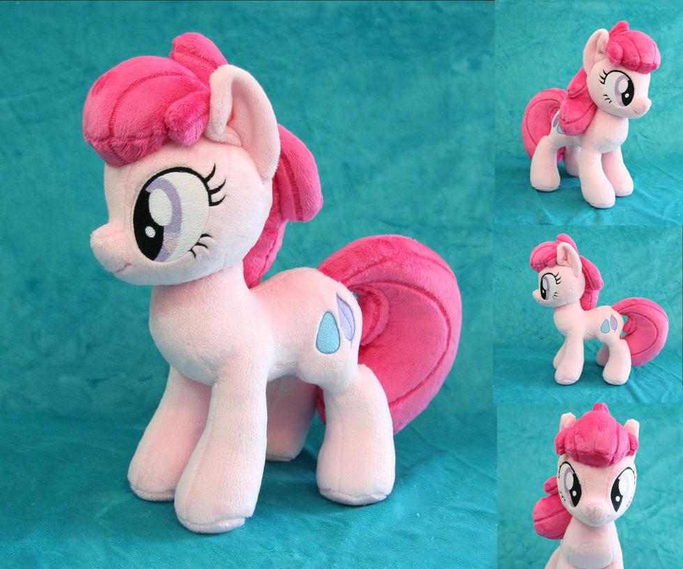 OC Feather Pony Plush by Yukamina-Plushies