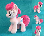 OC Feather Pony Plush by Yukamina-Plushies