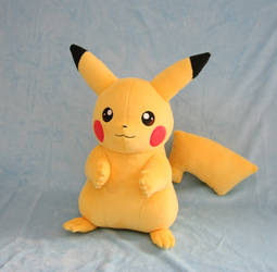 Pikachu Plush by Yukamina-Plushies