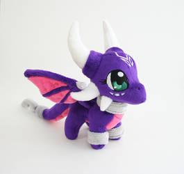 Cynder Dragon Plush by Yukamina-Plushies