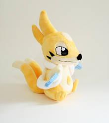 Shiny Floatzel Plushie by Yukamina-Plushies