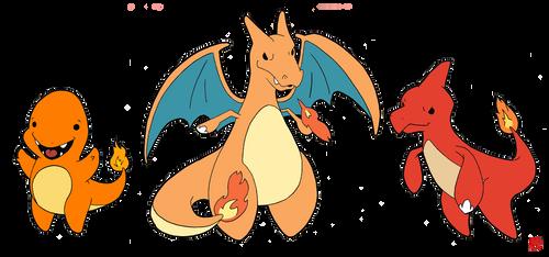 Pokemon 004-006 by OptimalProtocol