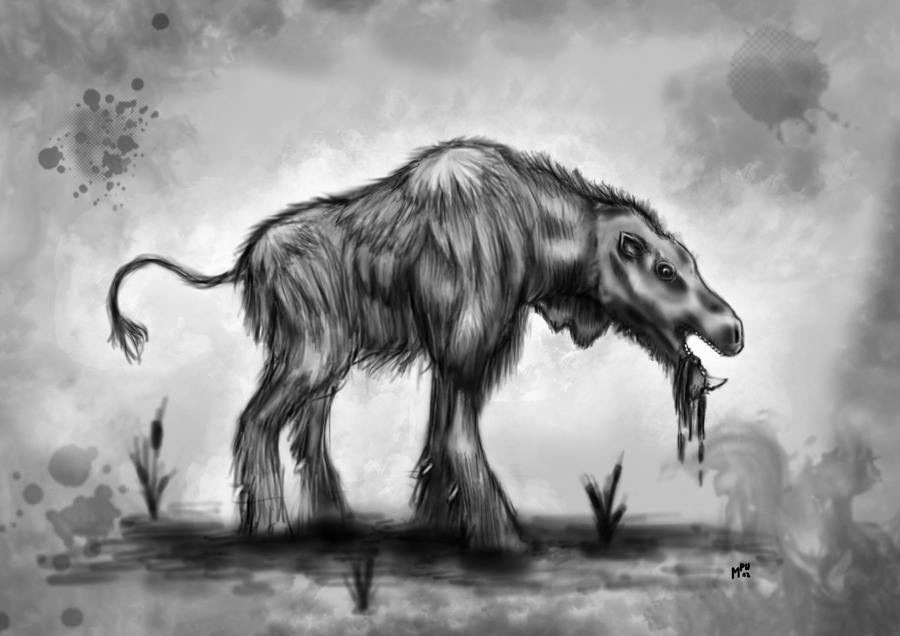 Swamp dweller by Ferkinason