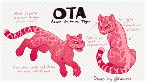 OTA | Raw Meat Tiger! CLOSED