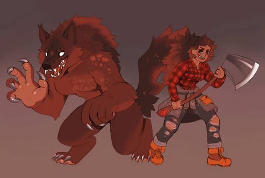OTA | Lumberjack Werewolf Girlfriend