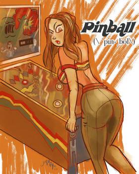 1970s:  Pinball