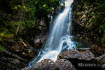 A mountain waterfall by NXcamera