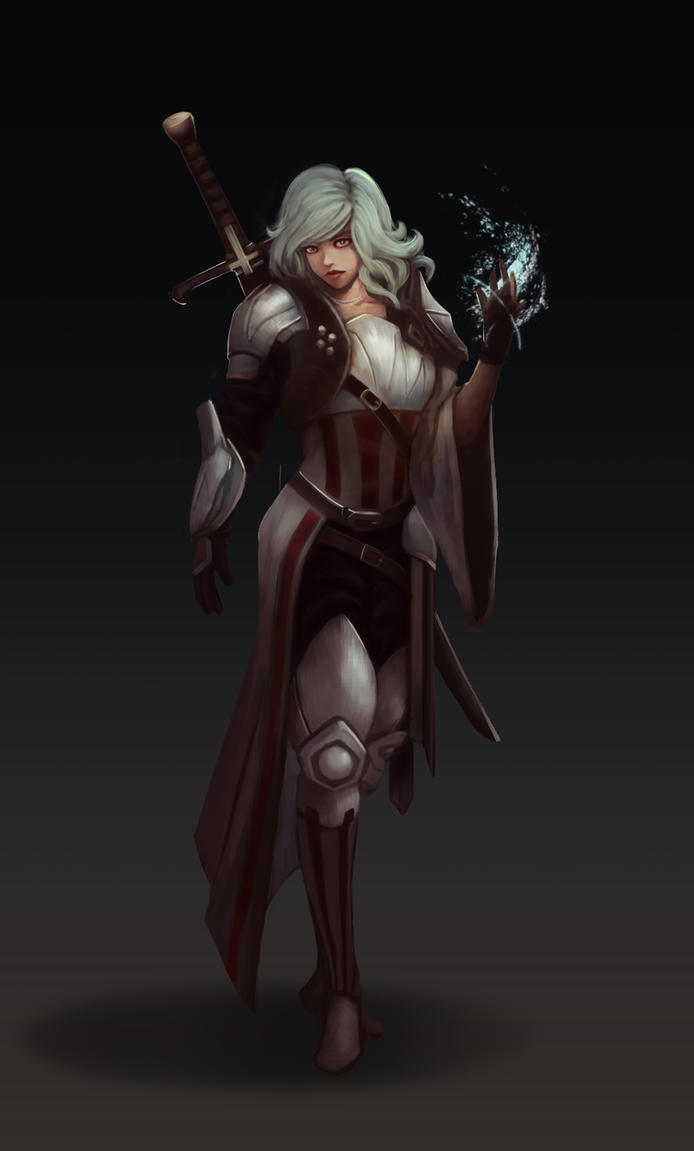 Character Concept: Paladin by KiraLNG