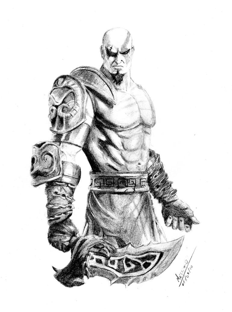 kratos by rafamassimo on deviantart