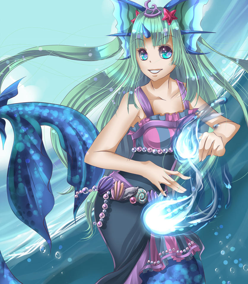 NEOPETS: Mermaid by Yakuun