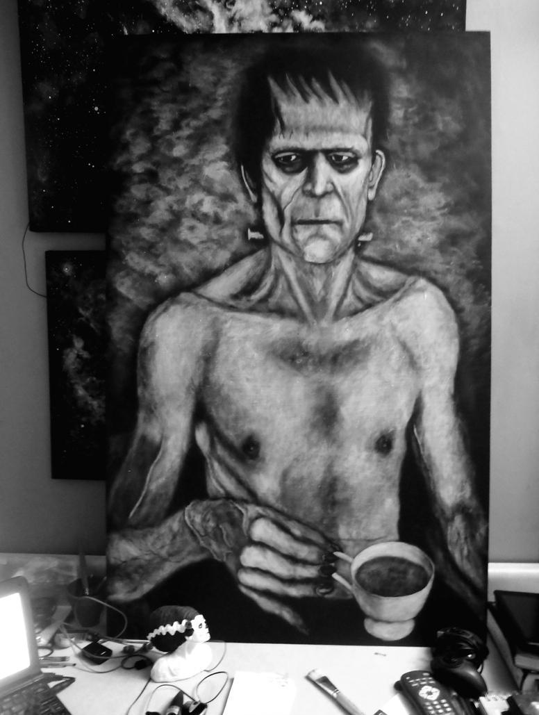 Tea Time With Boris (WIP) by calebvoorhees
