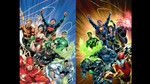 New 52 Justice League VS Crime Syndicate