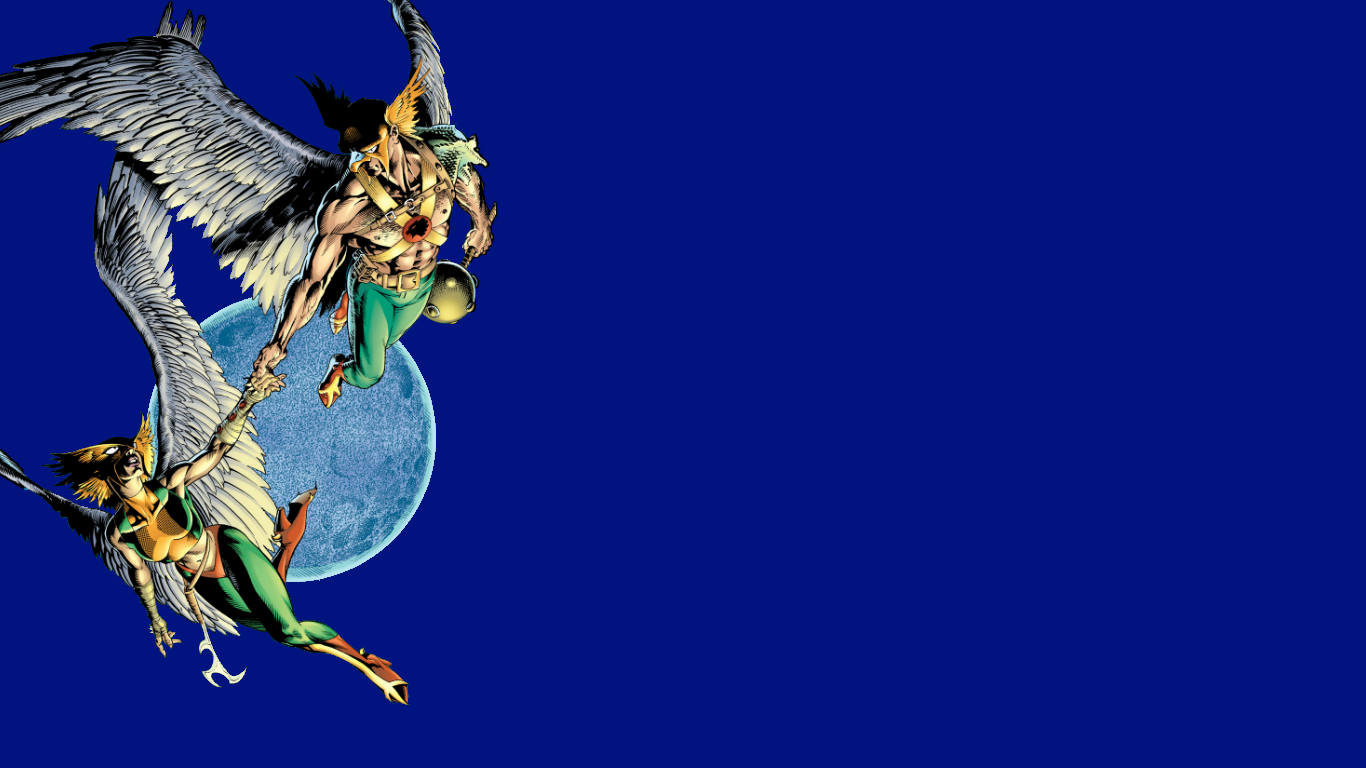 Hawkman And Hawkgirl Wallpaper By Gilgamesh Scorpion