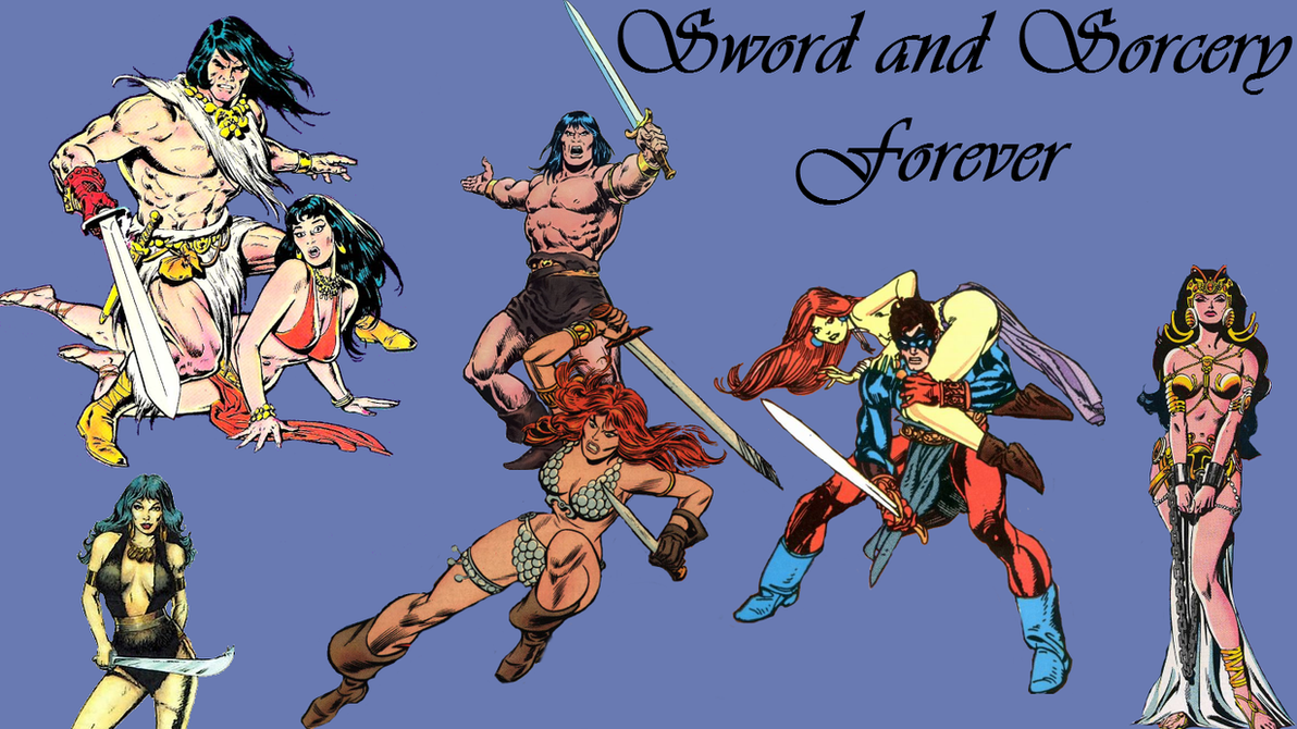 Sword And Sorcery Wallpaper By Gilgamesh Scorpion