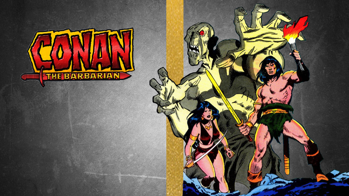 Conan The Barbarian Wallpaper by Gilgamesh-Scorpion on ...