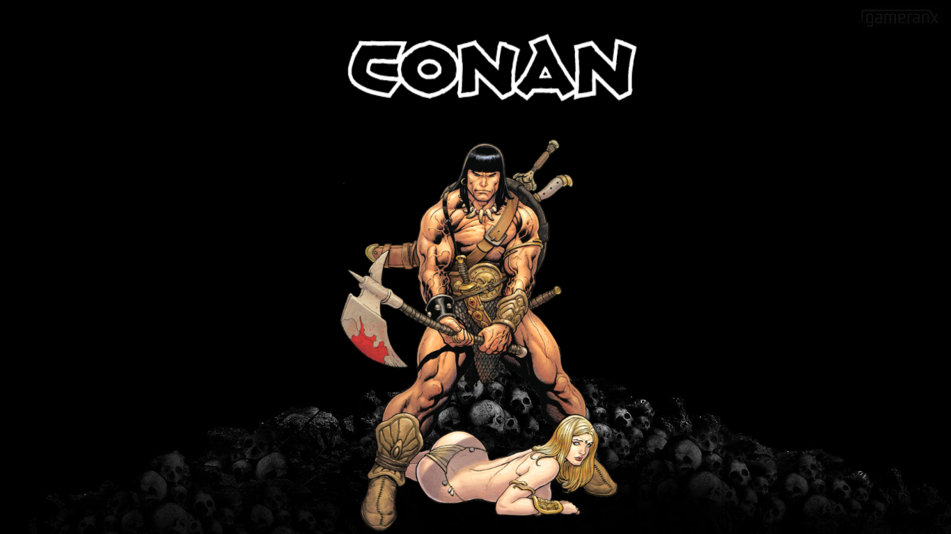 Conan The Barbarian Frank Cho Wallpaper by Gilgamesh ...