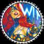 Tarot Round Stamp by Vampirewiccan