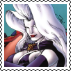 Lady Death Square stamp by Vampirewiccan