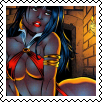 Vampirella Square stamp by Vampirewiccan
