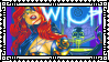 Tarot Witch Of The Black Rose Stamp 02 by Vampirewiccan