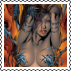 Witchblade Stamp by Vampirewiccan